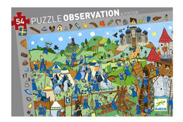 Puzzle Chevaliers 54 pcs +4 ans DJECO