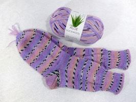 Color Socken / Flieder-alt Rosa