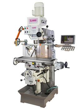 Getriebe Fräs- und Bohrmaschine Modell MFB    50 L inkl. 3-Achs-Positionsanzeige 'SINO' Betriebsbereit ELMAG 82151