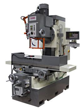 Universal-Bettfräsmaschine Modell UBF 140 V inkl. 3-Achs-Positionsanzeige 'SINO' ELMAG 82136