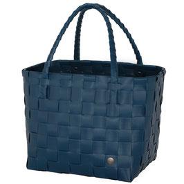 Handed By Shopper Paris ocean blue Einkaufstasche Strandtasche