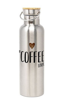"""Thermosflasche Thermoskanne Isolierkanne """"Coffee"""" Lover Edelstahl ppd"""