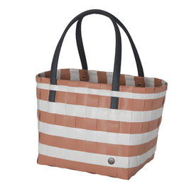Handed By Shopper Color Block copper blush Einkaufstasche Strandtasche