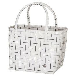 Handed By Shopper Essential white Einkaufstasche Strandtasche