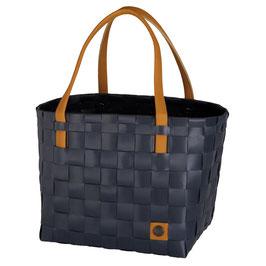 Handed By Shopper Color Block dark grey Einkaufstasche Strandtasche