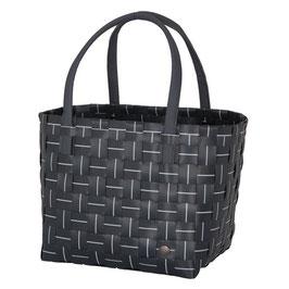 Handed By Shopper Elegance dark grey Einkaufstasche Strandtasche