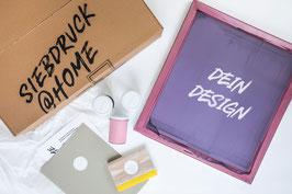 """SIEBDRUCK KIT """"Dein Design"""" für zu Hause"""