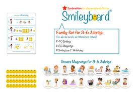Smileyboard® Family-Set (Perfekt für alle die bereits ein Whiteboard haben) -> Sonderedition für alleinerziehende Mütter