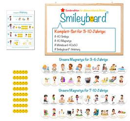 Smileyboard® Komplett-Set -> Sonderedition für alleinerziehende Mütter