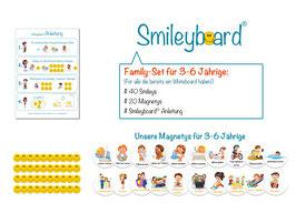 Smileyboard® Family-Set (Perfekt für alle die bereits ein Whiteboard haben)