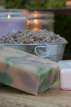 Lavender Sage Goat's Milk Soap ~ All Natural