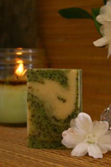 Mojito Goat's Milk Soap ~ All Natural