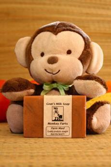 Monkey Farts Goat's Milk Soap