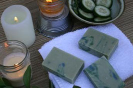 Cucumber Mint Goat's Milk Soap
