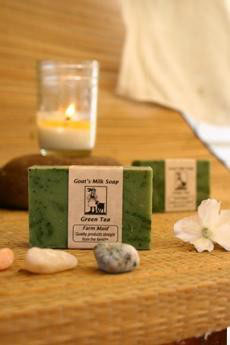 Green Tea Goat's Milk Soap