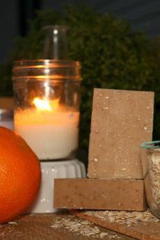 Tea Tree Mint Orange & Oats Goat's Milk Soap ~ All Natural