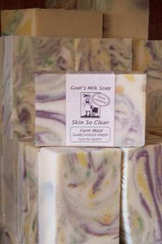 Skin So Clear ~ Natural Goat Milk Soap