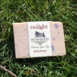 bella berry twilight ~ Viewpoint Inn Logo ~ Goat's Milk Soap