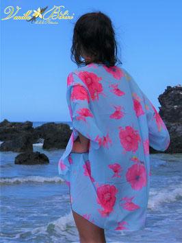 Kimono new bleu ciel