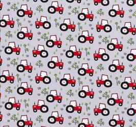 Jersey Traktor grau