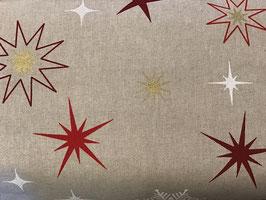 BW Leinenoptik Sterne Goldeffekt