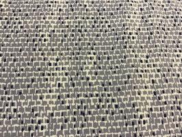 BW Bekleidungsstoff Muster grau/blau