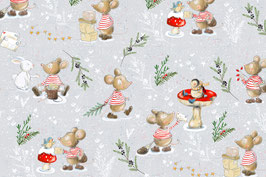 BIO Jersey Weihnachtsmaus