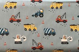 BW Baufahrzeuge dusty mint