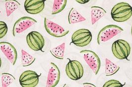 Baumwolle Melonen weiß
