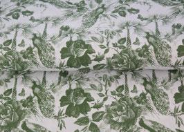 BW Pfau grün/weiß