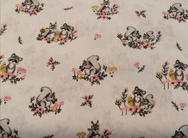 BW Waschbär & Eichhörnchen weiß
