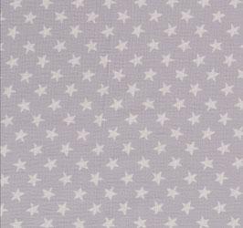 Musselin Sterne gezeichnet