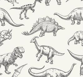 Jersey Dinos schwarz/weiß