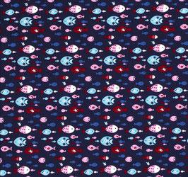BW Fische dunkelblau