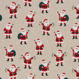 BW Leinenoptik Santa Clause