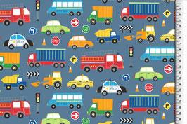 Jersey Traffic blau