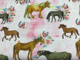 Jersey Pferde rosa
