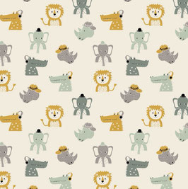 Jersey awesome Animals beige