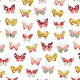 BW Schmetterlinge weiß