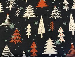 Jersey Weihnachten Tannenbäume