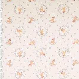 BW Bambi/Blätter weiß