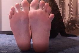 Fußsohlen Anbetung