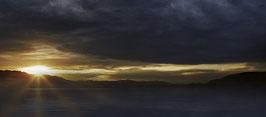 Herbstlicher Sonnenuntergang über dem Bodanrück  191020-004