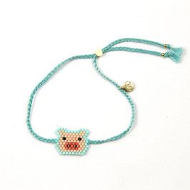 Bracelet Säuli türkis