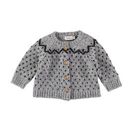 Cookie Jaquard  Knit Cardigan