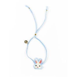 Bracelet Hase hellblau ( im Moment out of stock)