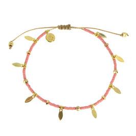 Bracelet Jeanne rose dore