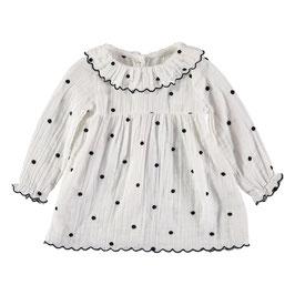 Noa Embroidery Dots Dress, kommt demnächst