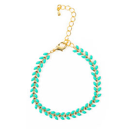 Bracelet türkis (im Moment ausverkauft, kommt demnächst)