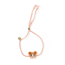 Bracelet Hund rosa ( im Moment out of stock)